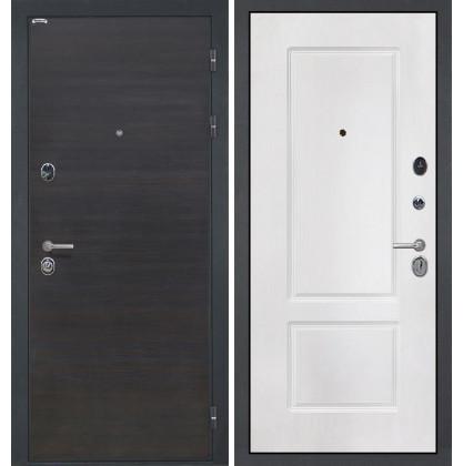 Дверь Интекрон Сицилия КВ-2 (Белая матовая)