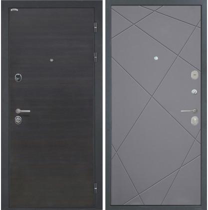 Дверь Интекрон Сицилия Лучи-М (Софт графит)