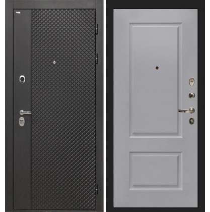 Дверь Интекрон Олимпия Black Альба эмаль RAL-7037 (Пыльно серый)