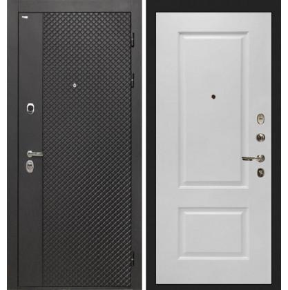 Дверь Интекрон Олимпия Black Альба эмаль RAL-9003 (Сигнально белый)