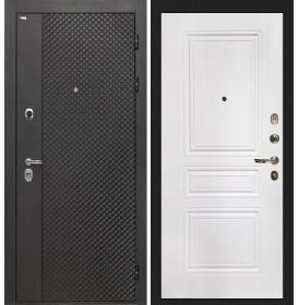 Дверь Интекрон Олимпия Black ФЛ-243 (Белая матовая)