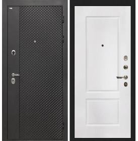 Дверь Интекрон Олимпия Black КВ-2 (Белая матовая)