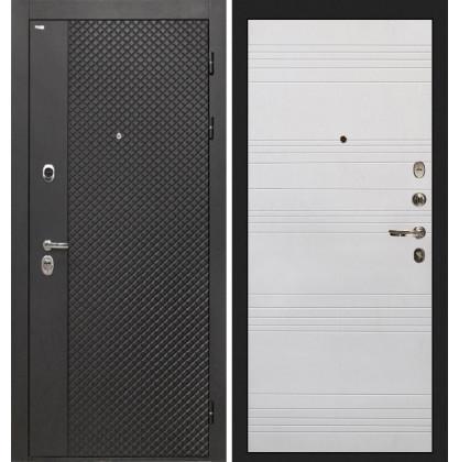 Дверь Интекрон Олимпия Black ФЛ-316 (Белый ясень)