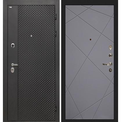 Дверь Интекрон Олимпия Black Лучи-М (Софт графит)