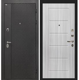 Дверь Интекрон Олимпия Black ФЛ-39 (Сандал белый)