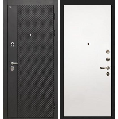 Дверь Интекрон Олимпия Black (Силк сноу)