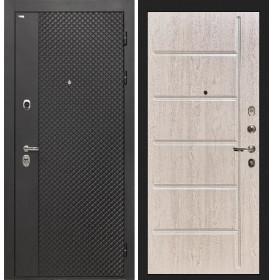 Дверь Интекрон Олимпия Black ФЛ-102 (Сосна белая)