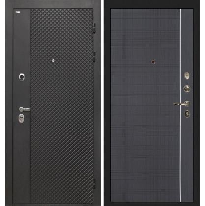 Дверь Интекрон Олимпия Black В-07 (Венге)