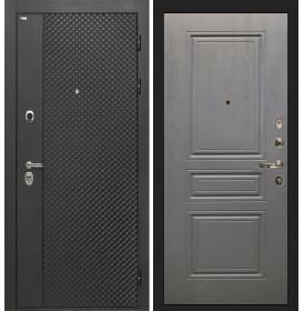 Дверь Интекрон Олимпия Black ФЛ-243 (Графит вуд дуб)