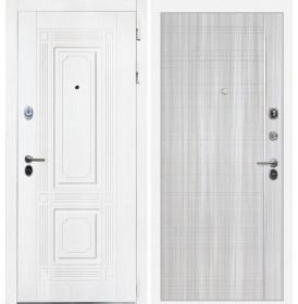 Дверь Интекрон Брайтон В-07 (Роял вуд белый / Сандал белый)