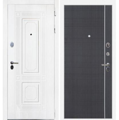 Дверь Интекрон Брайтон В-07 (Роял вуд белый / Венге)