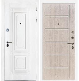 Дверь Интекрон Брайтон ФЛ-102 (Роял вуд белый / Сосна белая)