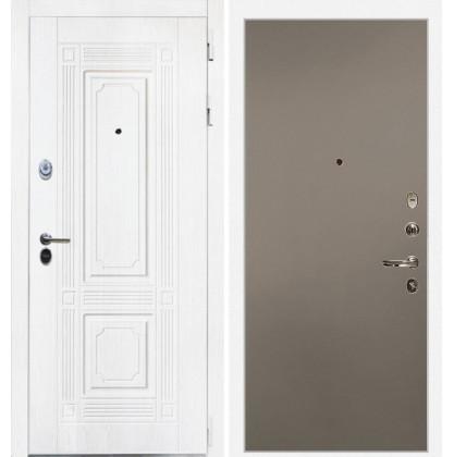 Дверь Интекрон Брайтон (Роял вуд белый / Силк муссон)