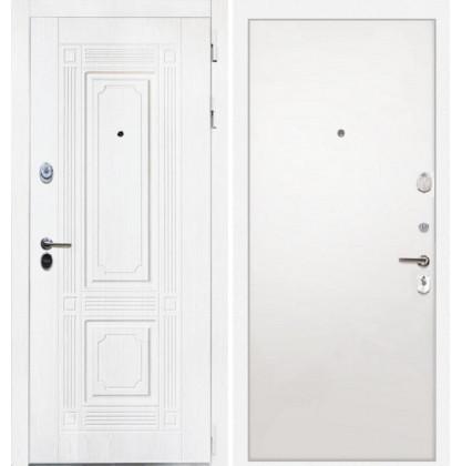 Дверь Интекрон Брайтон (Роял вуд белый / Силк жасмин)