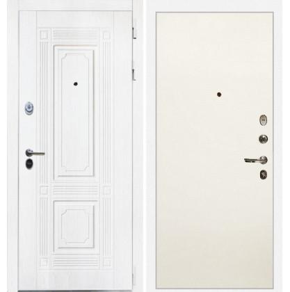 Дверь Интекрон Брайтон (Роял вуд белый / Силк сноу)