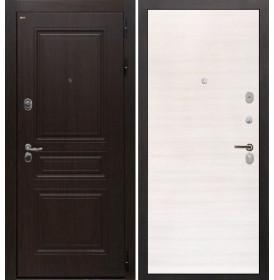Дверь Интекрон Брайтон (Тиковое дерево / Дуб сильвер)