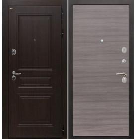 Дверь Интекрон Брайтон (Тиковое дерево / Дуб тоскано)