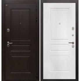 Дверь Интекрон Брайтон ФЛ-243 (Тиковое дерево / Белая матовая)