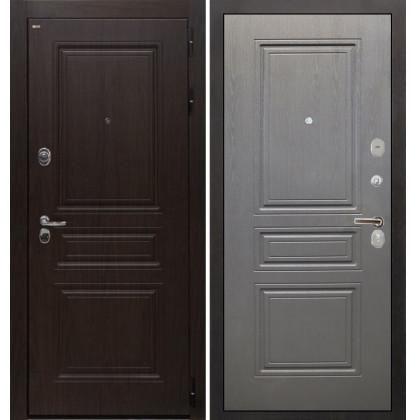Дверь Интекрон Брайтон ФЛ-243 (Тиковое дерево / Графит вуд дуб)