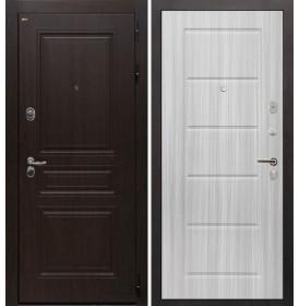 Дверь Интекрон Брайтон ФЛ-39 (Тиковое дерево / Сандал белый)
