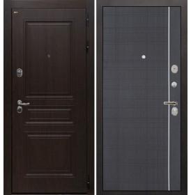 Дверь Интекрон Брайтон В-07 (Тиковое дерево / Венге)