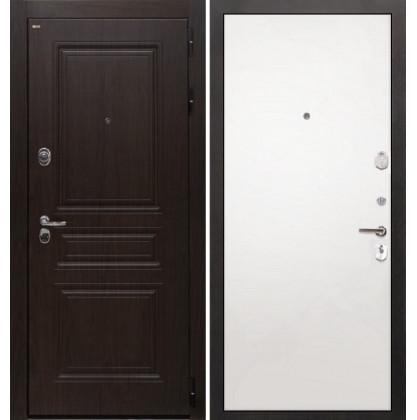 Дверь Интекрон Брайтон (Тиковое дерево / Силк сноу)
