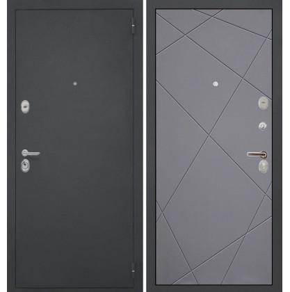 Дверь Интекрон Гектор Лучи-М (Софт графит)