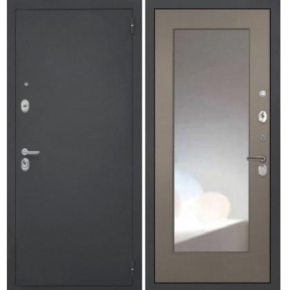 Дверь Интекрон Гектор ФЛЗ-М с зеркалом (Силк муссон)