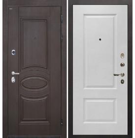 Дверь Интекрон Олимпия Венге Альба эмаль RAL-9003 (Сигнально белый)