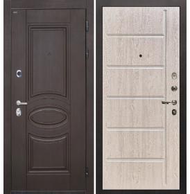 Дверь Интекрон Олимпия Венге ФЛ-102 (Белая сосна)
