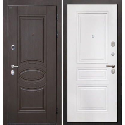 Дверь Интекрон Олимпия Венге ФЛ-243 (Белая матовая)