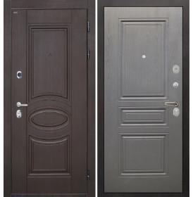 Дверь Интекрон Олимпия Венге ФЛ-243 (Графит вуд дуб)