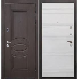Дверь Интекрон Олимпия Венге ФЛ-316 (Белый ясень)