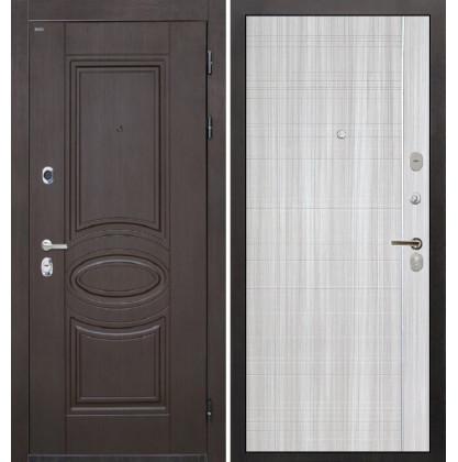 Дверь Интекрон Олимпия Венге В-07 (Сандал белый)