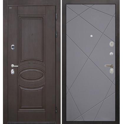Дверь Интекрон Олимпия Венге Лучи-М (Софт графит)
