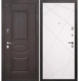 Дверь Интекрон Олимпия Венге Лучи-М (Софт милк)