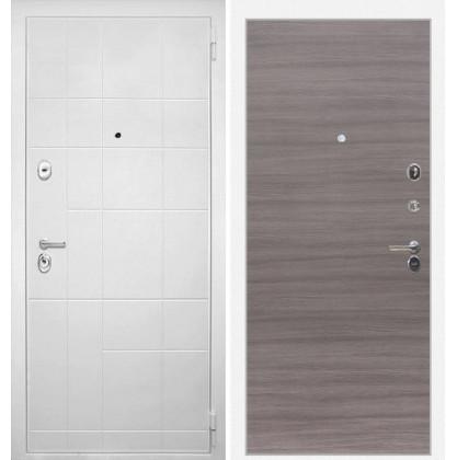 Дверь Интекрон Спарта Белая (Дуб тоскано поперечный)