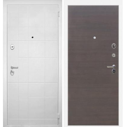 Дверь Интекрон Спарта Белая (Эковенге поперечный)