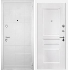 Дверь Интекрон Спарта Белая ФЛ-243 (Белая матовая)