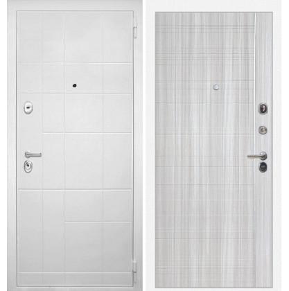 Дверь Интекрон Спарта Белая В-07 (Сандал белый)