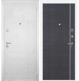 Дверь Интекрон Спарта Белая В-07 (Венге)