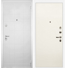 Дверь Интекрон Спарта Белая (Силк жасмин)