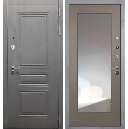 Дверь Интекрон Брайтон ФЛЗ-М с зеркалом (Силк муссон)