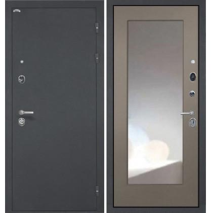 Дверь Интекрон Греция ФЛЗ-М с зеркалом (Силк муссон)