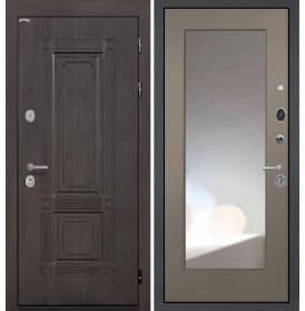 Дверь Интекрон Италия ФЛЗ-М с зеркалом (Силк муссон)