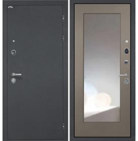Дверь Интекрон Колизей ФЛЗ-М с зеркалом (Силк муссон)