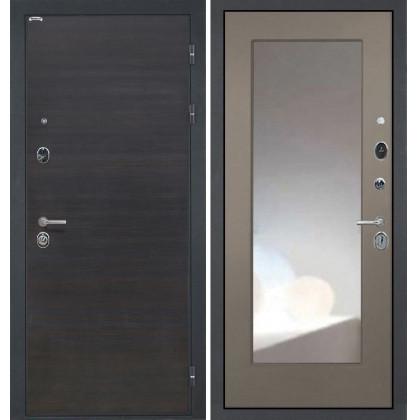 Дверь Интекрон Сицилия ФЛЗ-М с зеркалом (Силк муссон)