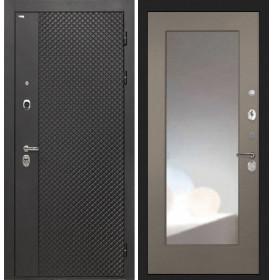 Дверь Интекрон Олимпия Black ФЛЗ-М (Силк муссон)